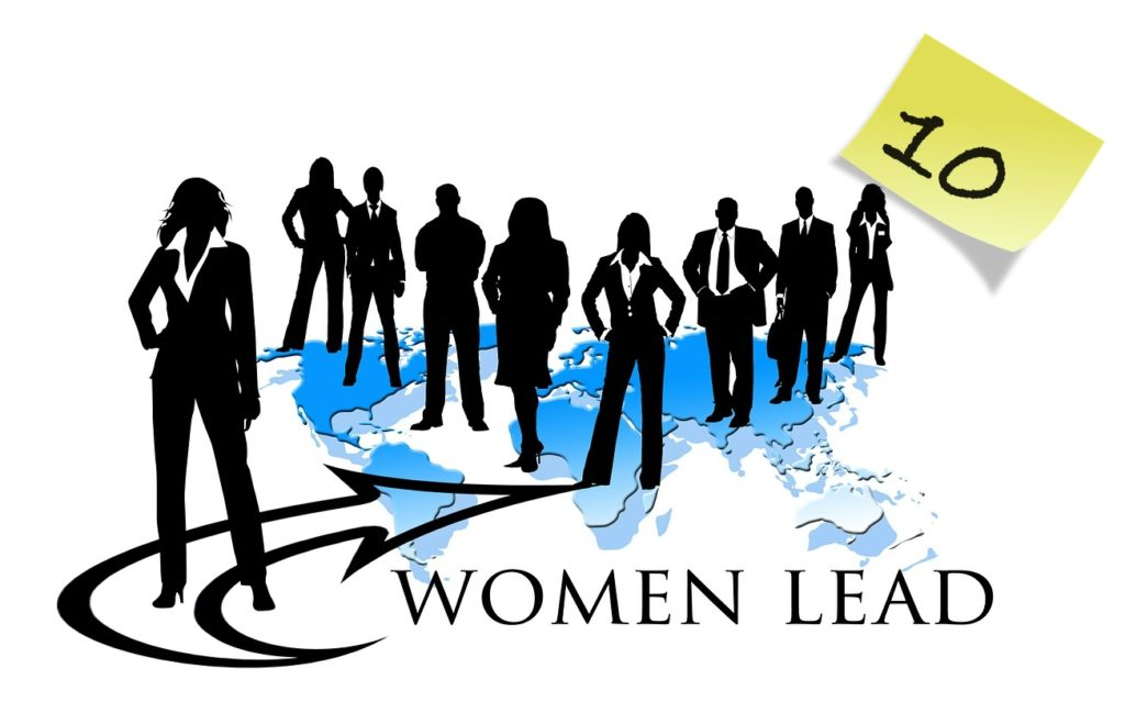 Women lead representation on corporate boards of directors.